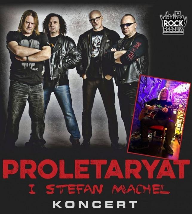Koncert Proletaryat i Stefan Machel z TSA  - Zdjęcie główne