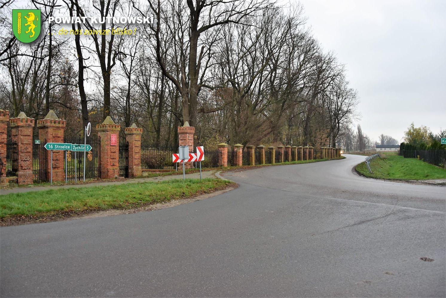 [FOTO] Niebezpieczne skrzyżowanie w Oporowie. Starostwo podjęło działania - Zdjęcie główne