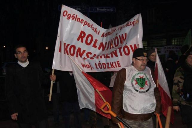 Rolnicy solidarni z górnikami - Zdjęcie główne