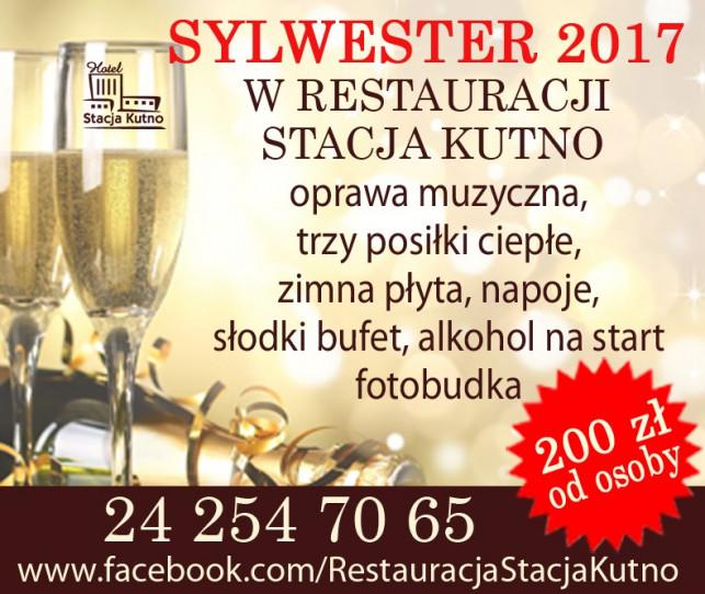 Sylwester 2017 w Restauracji Stacja Kutno - Zdjęcie główne