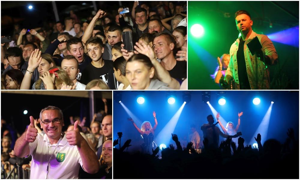 Muzyczne szaleństwo w Dąbrowicach! Tłumy bawiły się na koncertach gwiazd disco-polo [ZDJĘCIA] - Zdjęcie główne