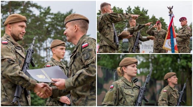 [ZDJĘCIA] Żołnierze złożyli przysięgę. Obrona Terytorialna z Kutna rośnie w siłę - Zdjęcie główne