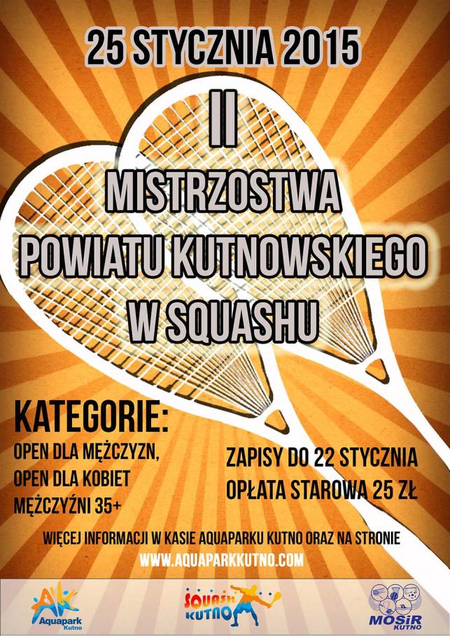II Mistrzostwa Powiatu Kutnowskiego w squashu - Zdjęcie główne
