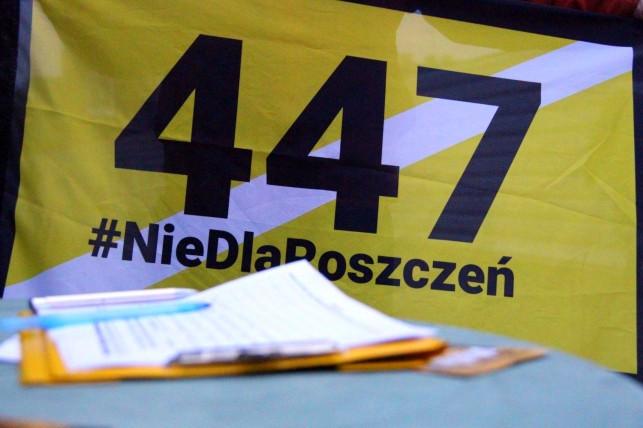 Zebrali ponad 200 tys. podpisów! Kutnowscy działacze dziękują mieszkańcom - Zdjęcie główne
