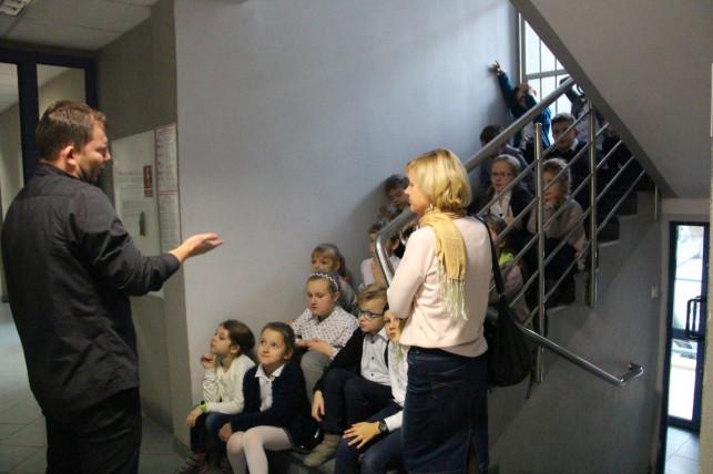 Dwie wizyty uczniów w naszej redakcji - Zdjęcie główne