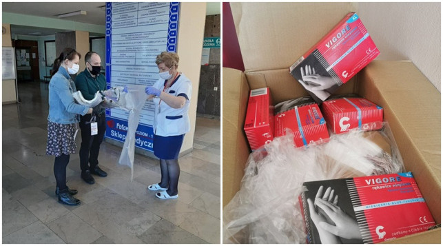 [FOTO] Prawie 300 tysięcy złotych i cała masa sprzętu! Szpital dziękuje darczyńcom - Zdjęcie główne