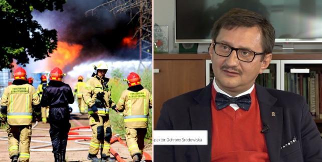 Pożar w Kutnie przelał czarę goryczy? Główny Inspektor Ochrony Środowiska odwołany - Zdjęcie główne