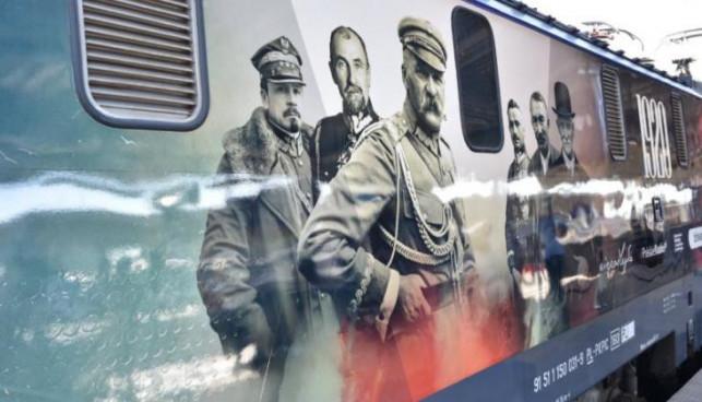 Takich pociągów jeszcze nie było! Piłsudski, Haller i Witos przejadą przez Kutno - Zdjęcie główne