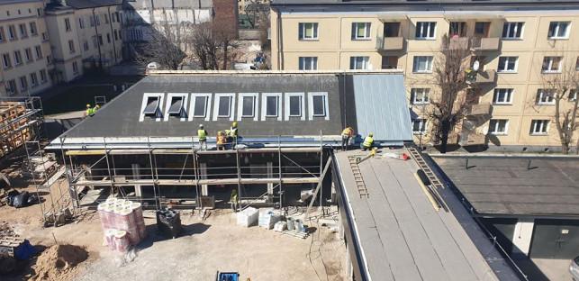 [FOTO] Pracują mimo wirusa. Zobacz zdjęcia z placu budowy! - Zdjęcie główne