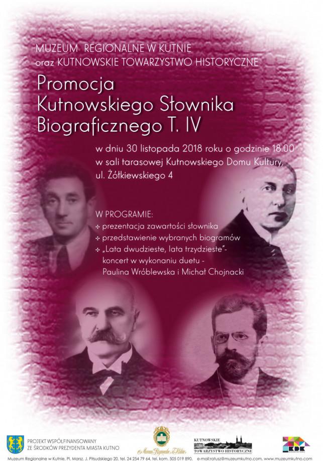 """Promocja IV tomu """"Kutnowskiego Słownika Biograficznego"""" - Zdjęcie główne"""