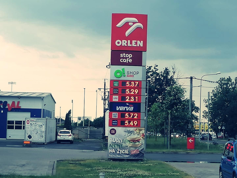Benzyna najdroższa od 7 lat! Sprawdź ceny paliw na kutnowskich stacjach [ZDJĘCIA] - Zdjęcie główne