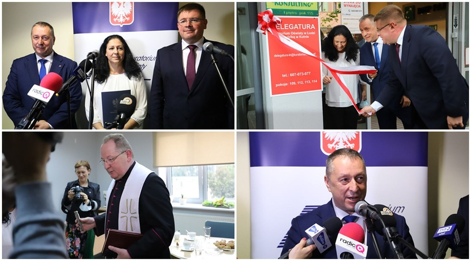 """Ważny dzień dla Kutna z udziałem wiceministra i władzami gmin. T. Rzymkowski : """"To podniesienie statusu miasta"""" - Zdjęcie główne"""