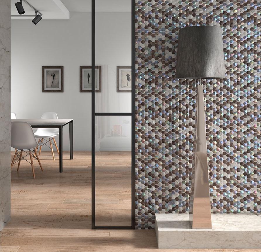 Mozaika w salonie – powiew elegancji i fantazji - Zdjęcie główne