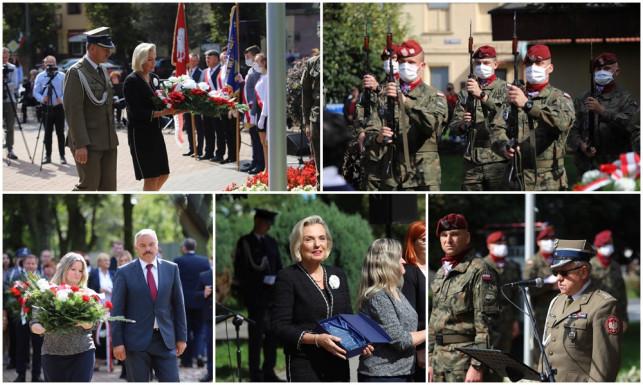 [FOTO] Historyczne wydarzenie w Krośniewicach. Przemówiła córka gen. Andersa, wybrzmiała salwa honorowa - Zdjęcie główne