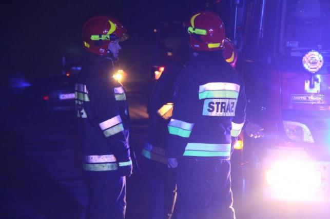 Wyciek amoniaku i ewakuacja pracowników! Kilkugodzinna akcja kutnowskiej straży - Zdjęcie główne