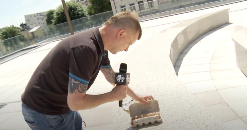 [WIDEO] Republika Pyta: Kutno betonem podzielone? Jaok smażył jajka na Placu Wolności - Zdjęcie główne