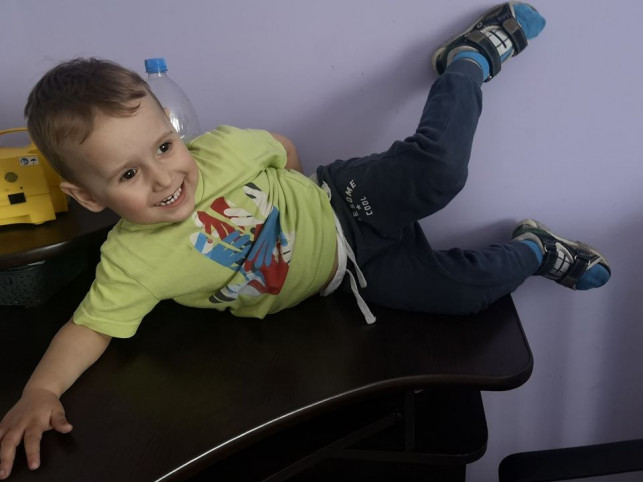 Mały Borysek zmaga się z nieuleczalną chorobą. Trwa zbiórka pieniędzy - Zdjęcie główne
