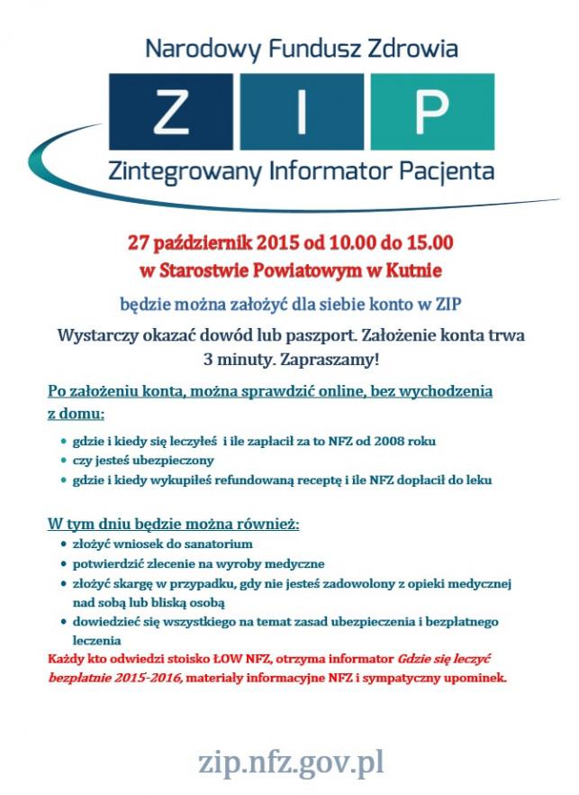 Zintegrowany Informator Pacjenta - Zdjęcie główne
