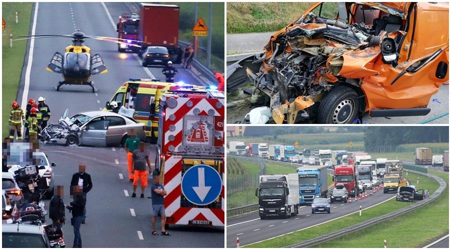 Seria wypadków na autostradzie A1. Za kilka dni na kutnowskim Placu Wolności zorganizują… [ZDJĘCIA] - Zdjęcie główne