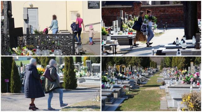 [ZDJĘCIA] Ludzie spacerują i gromadzą się na cmentarzach? Sprawdziliśmy to - Zdjęcie główne
