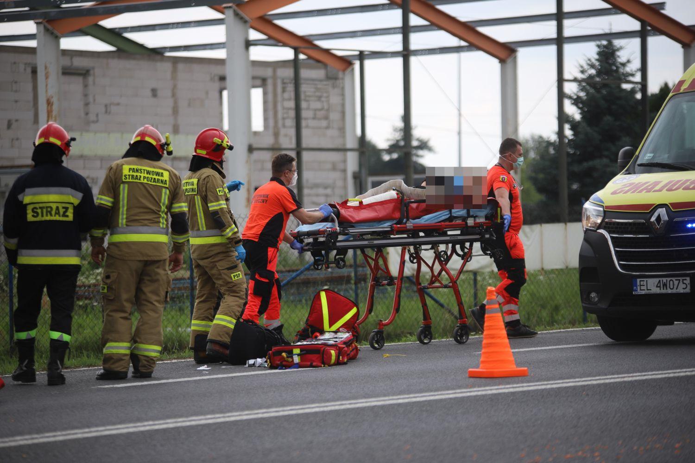 17-letni motocyklista w szpitalu. Sprawcą wypadku nietrzeźwy kierowca busa [ZDJĘCIA] - Zdjęcie główne