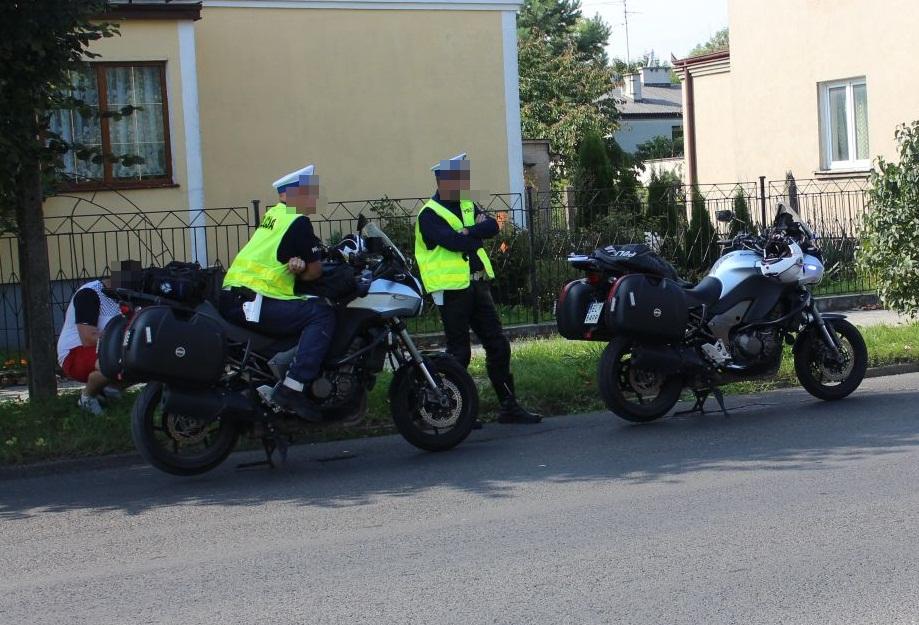 Brawurowy pościg ulicami Kutna. Dlaczego 30-latek uciekał przed policyjnymi motocyklistami? - Zdjęcie główne