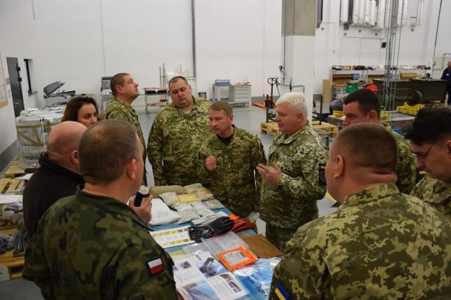 [ZDJĘCIA] Ukraińscy żołnierze w Kutnie. Co tutaj robili? - Zdjęcie główne