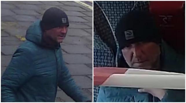 [FOTO] Kradzież w pociągu. Policja publikuje zdjęcia złodzieja - Zdjęcie główne