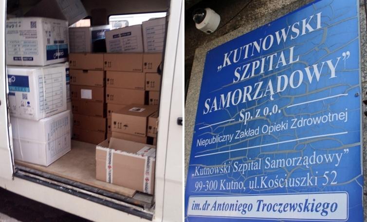 [FOTO] Jest pomoc dla kutnowskiego szpitala. Do placówki trafił sprzęt za ponad 200 tys. zł - Zdjęcie główne