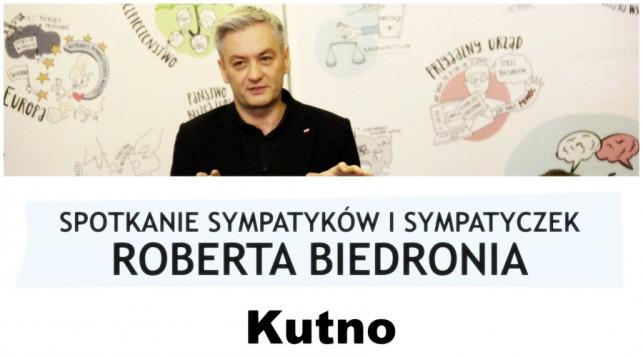 Sympatycy Roberta Biedronia już dziś spotkają się w Kutnie - Zdjęcie główne