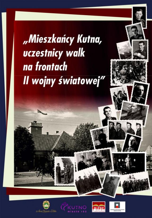 """Wystawa plenerowa """"Mieszkańcy Kutna, uczestnicy walk na frontach II wojny światowej"""" - Zdjęcie główne"""