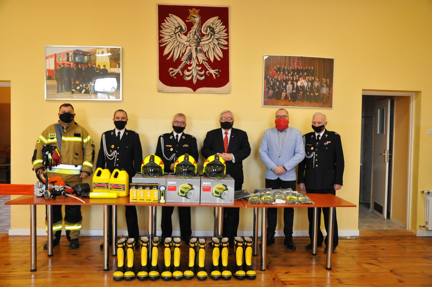 [FOTO] Nowoczesny sprzęt dla strażaków z Żychlina - Zdjęcie główne