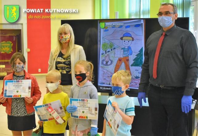[ZDJĘCIA] Konkurs rozstrzygnięty. Powiat Kutnowski nagrodził małych artystów - Zdjęcie główne