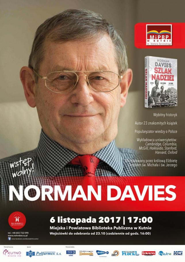 Norman Davies odwiedzi miejską bibliotekę  - Zdjęcie główne