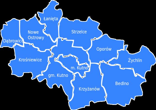 Zmiany na mapie powiatu. Kilka miejscowości... - Zdjęcie główne
