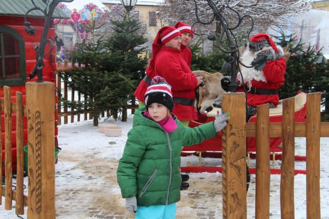 [ZDJĘCIA] Święty Mikołaj dotarł do Kutna! - Zdjęcie główne