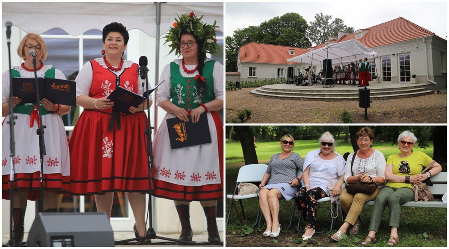 Pierwsza taka impreza w Gminie Kutno! Co dzieje się przy dworku w Leszczynku? [ZDJĘCIA] - Zdjęcie główne