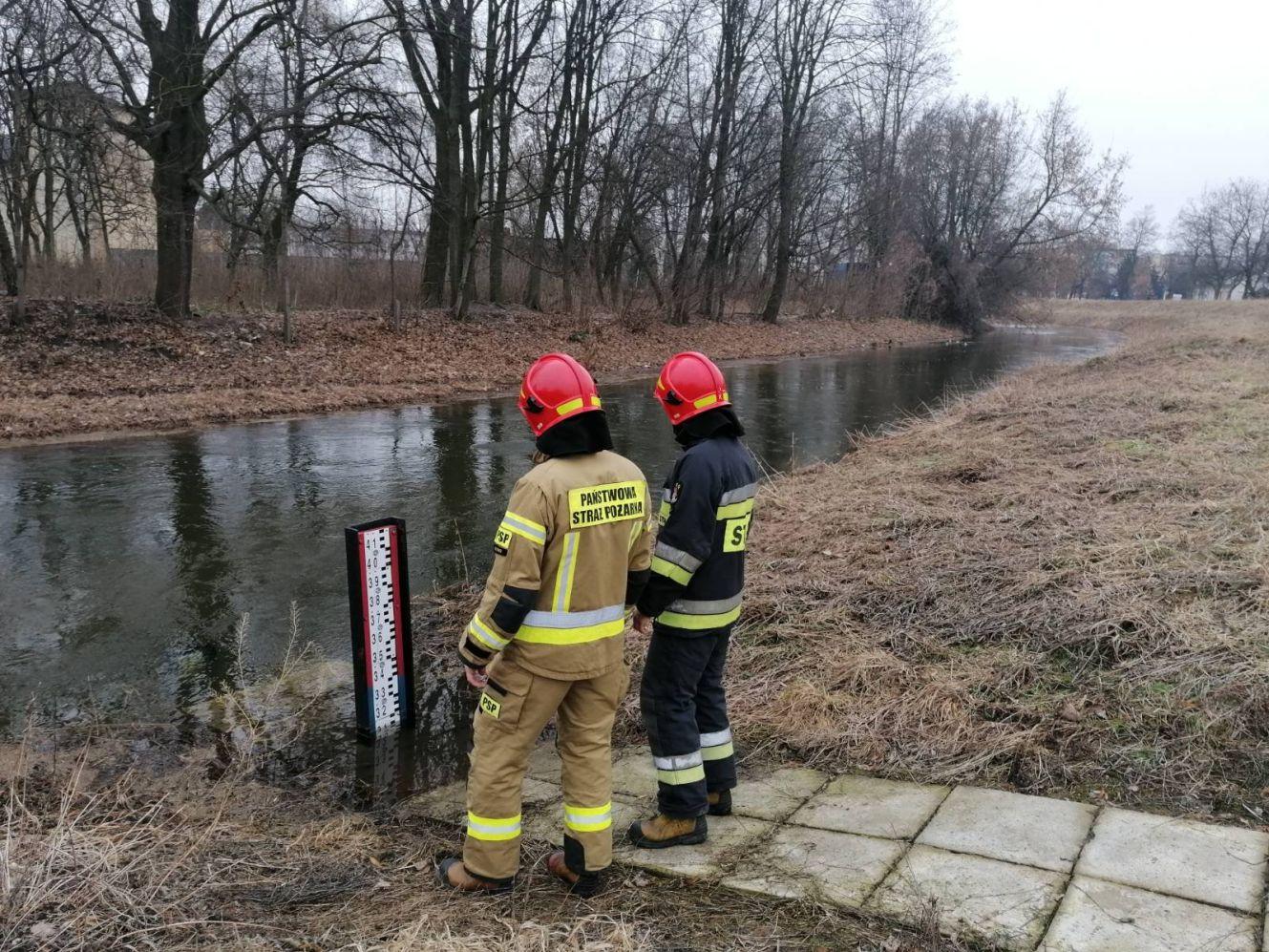 [FOTO] Strażacy monitorują Ochnię: jaka jest sytuacja? - Zdjęcie główne