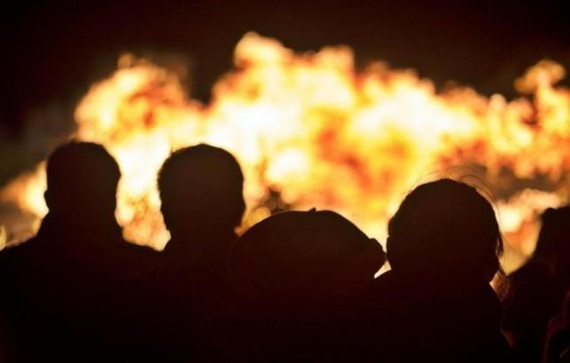 Kolejny pożar na Wenecji - Zdjęcie główne