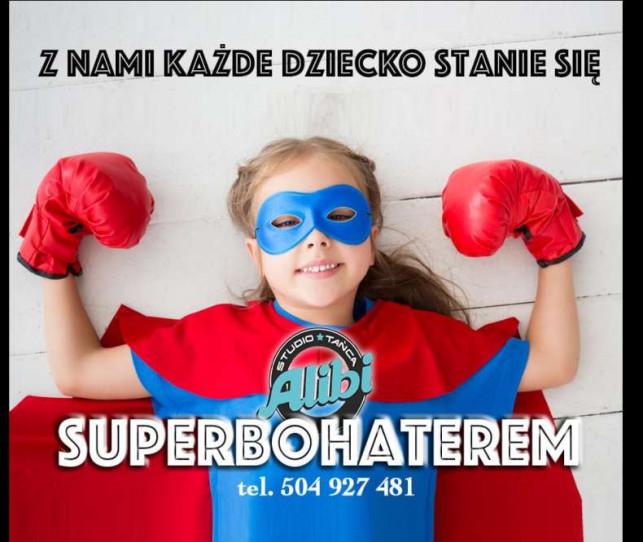 Superbohaterowie w Studio Tańca Alibi! - Zdjęcie główne
