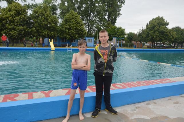 Chłodny start basenu - Zdjęcie główne
