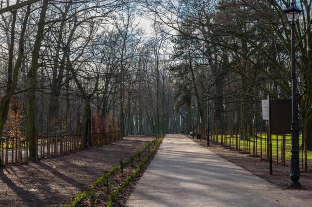 Park im. Wiosny Ludów po rewaloryzacji - Zdjęcie główne