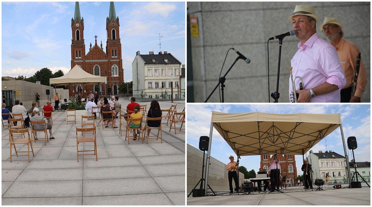 Kawa i spacery przy muzyce na żywo na kutnowskim Placu Wolności [ZDJĘCIA] - Zdjęcie główne