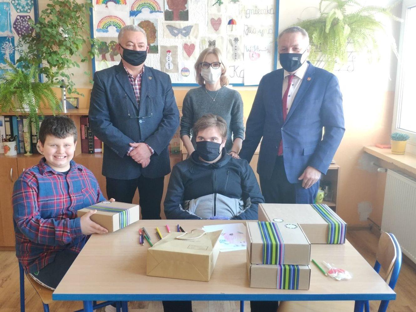 [FOTO ]Sukces Błażeja z SOSW nr 1. Został wyróżniony w konkursie ekologicznym - Zdjęcie główne