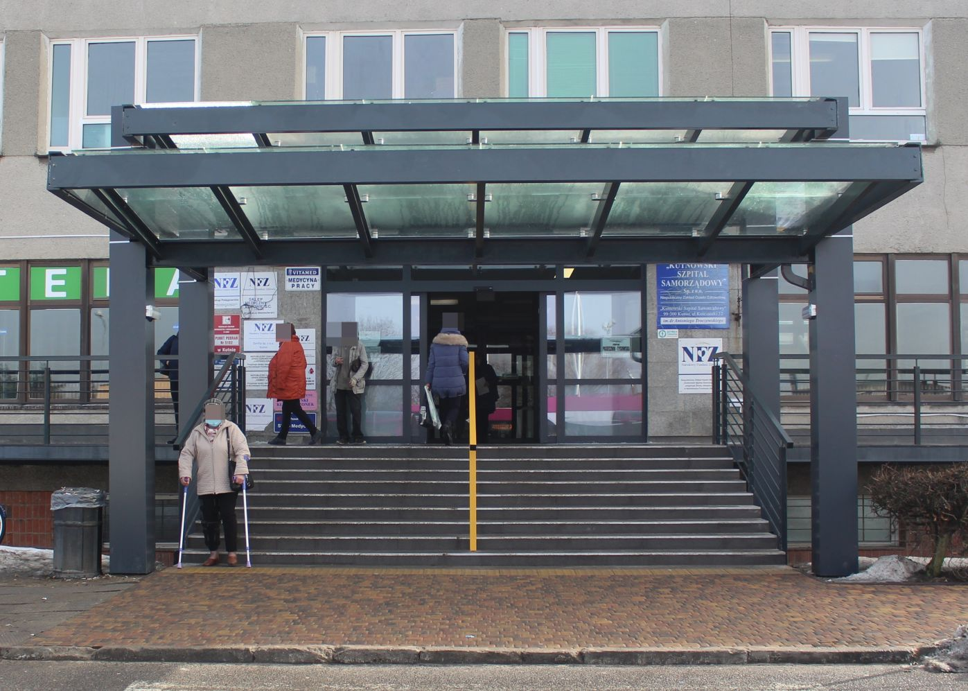 [FOTO] Tak wygląda nowe wejście do szpitala. W planach kolejne inwestycje - Zdjęcie główne