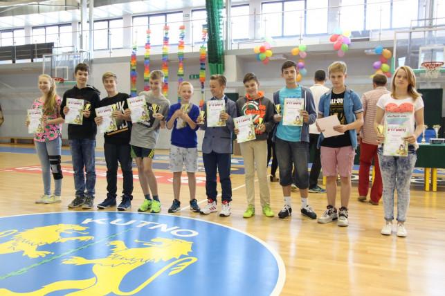 Podsumowanie sportowych osiągnięć uczniów SP 9 w Kutnie w roku szkolnym 2014/2015 - Zdjęcie główne