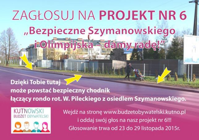 """""""Bezpieczne Szymanowskiego i Olimpijska - damy radę"""" - Zdjęcie główne"""