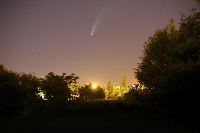[FOTO] To nie film. Kometa na naszym niebie! - Zdjęcie główne