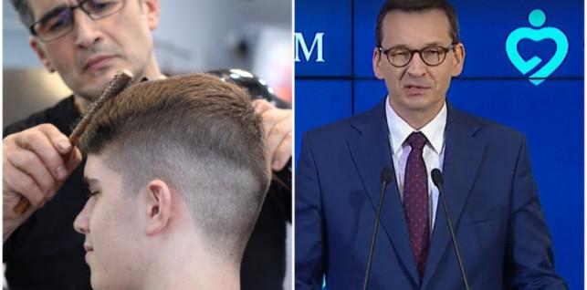 [WIDEO] Salony fryzjerskie i kosmetyczne wkrótce otwarte. Premier ogłosił III etap odmrażania gospodarki - Zdjęcie główne