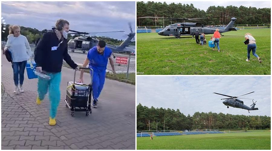 Policyjny Black Hawk transportował serce do przeszczepu. Znamy szczegóły misji [ZDJĘCIA/WIDEO] - Zdjęcie główne